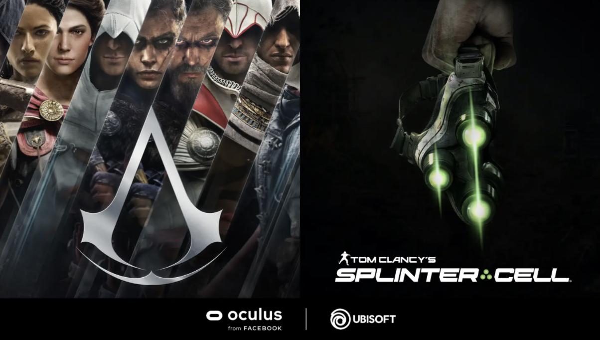 《刺客信条 VR》、《细胞分裂 VR》招聘技术人员进行多人游戏模式开发
