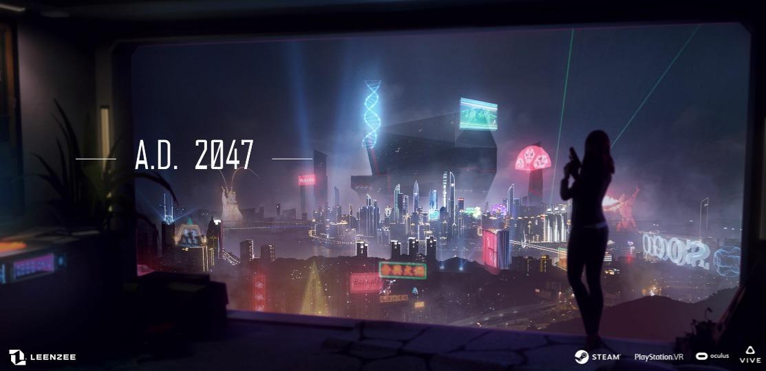 赛博朋克+情感悬疑 VR互动电影游戏《A.D. 2047》呈现未来世代魔幻重庆