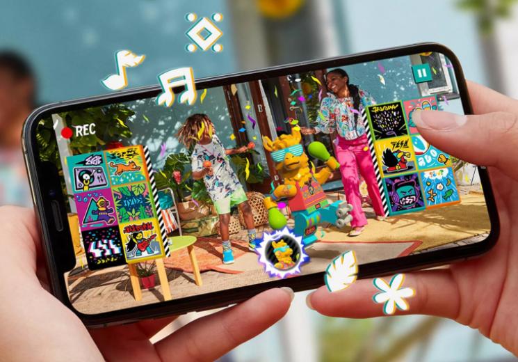 乐高面向儿童用户推出音乐视频AR社交应用《Vidiyo》