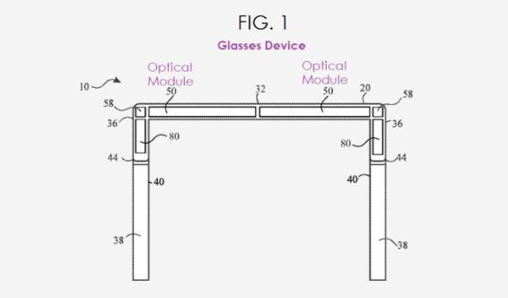 苹果新专利:为未来智能眼镜研发光学校准系统,以提供最佳AR效果
