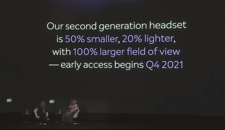 Magic Leap 2将于2021年Q4发布,FOV翻倍,尺寸小50%