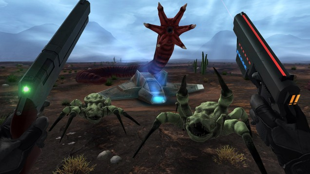 早期VR游戏原型《Crashland》将于本周四上线Quest