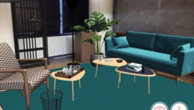 东京公寓利用AR看样板房,无需家具也可预览