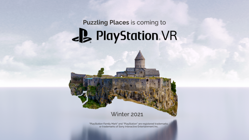 VR 3D拼图游戏《puzzle Places》将登陆PlayStation VR