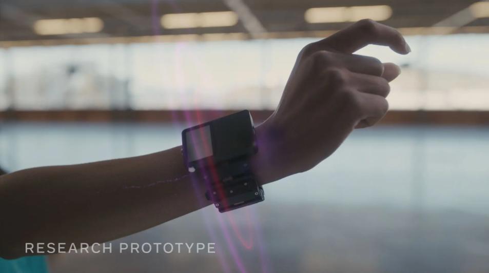 读取手腕神经信号的手环?Facebook分享最新手部追踪、触觉反馈研究