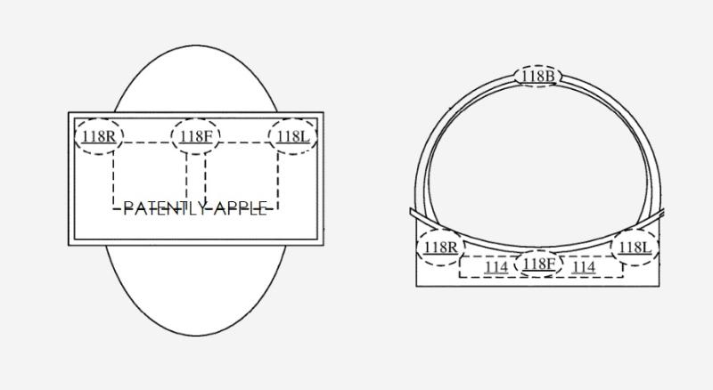 苹果头显新专利:将触觉反馈设备放置在用户脸颊周围,以提供更强娱乐性