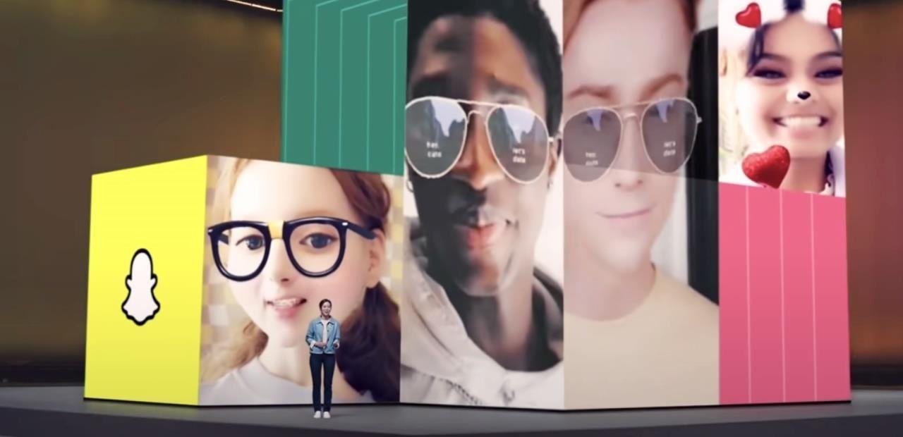 三星推全新A系列智能手机,其相机原生支持Snapchat AR滤镜