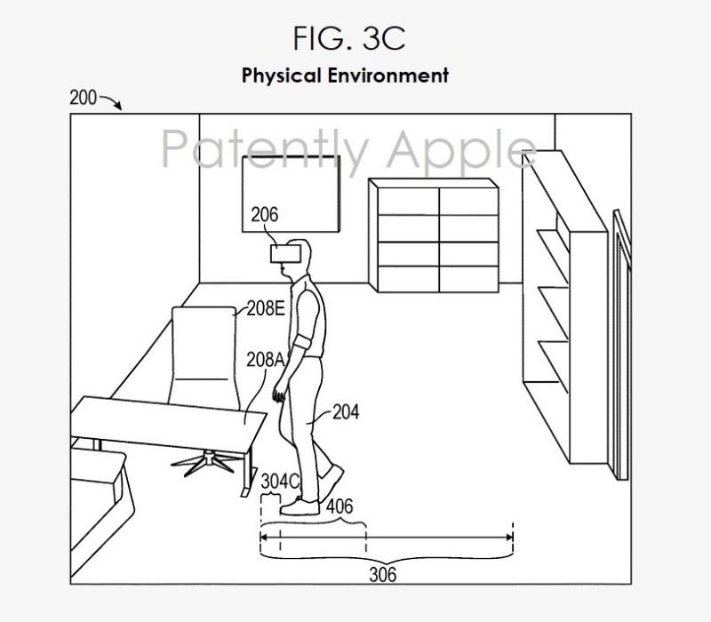 苹果新专利:HMD或将提供用于AR游戏的多层视觉系统,以减少碰撞受伤