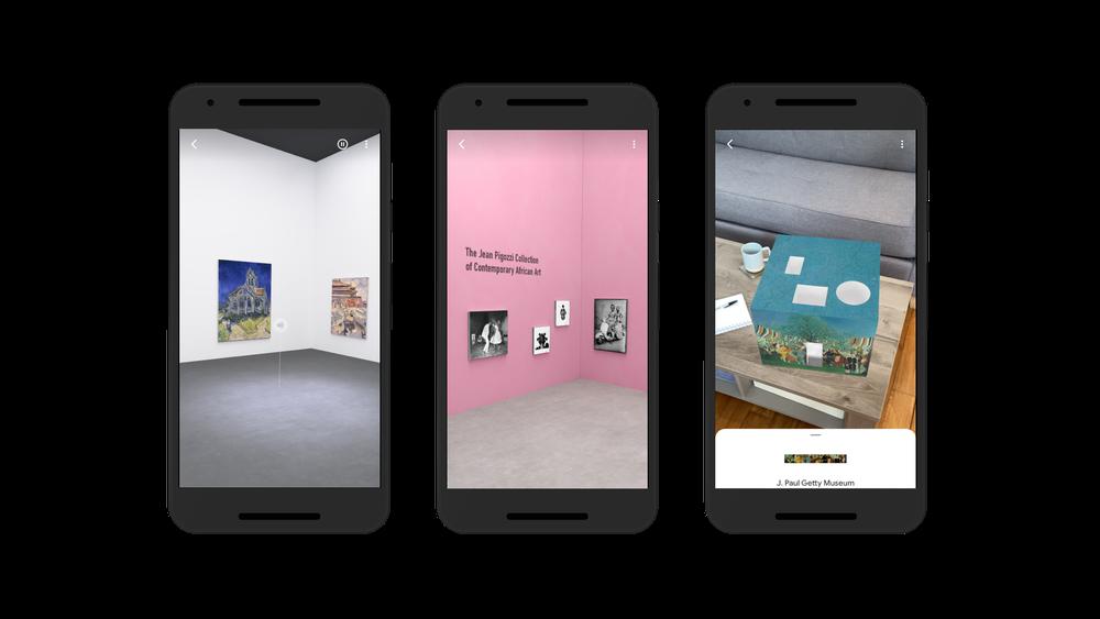 谷歌为艺术文化应用添加新的AR画廊和语音导览功能