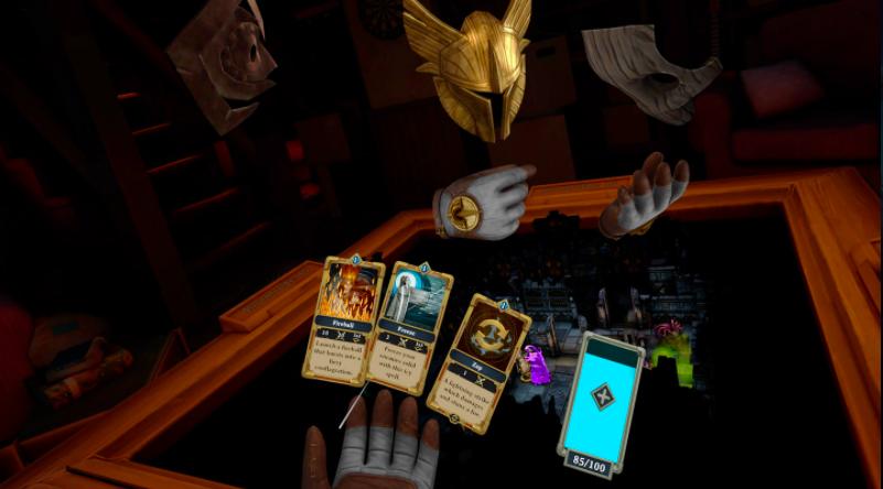 《龙与地下城》风格VR游戏《Demeo》5月登陆各大头显
