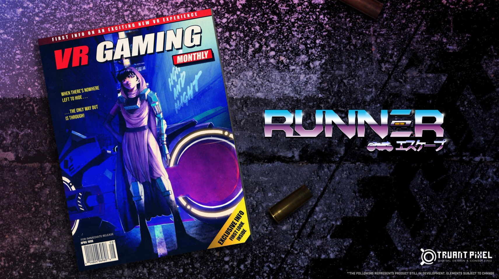 80年代动画风格的VR竞速游戏《Runner》将登陆PS VR 2