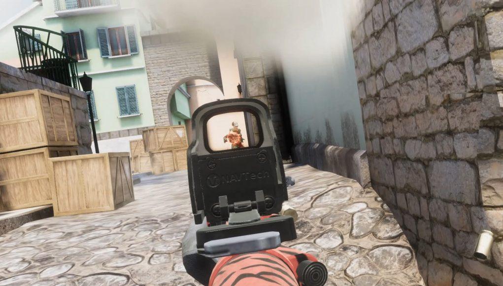 《CS:GO》风格的VR射击游戏《Alvo》4月13日登陆PSVR