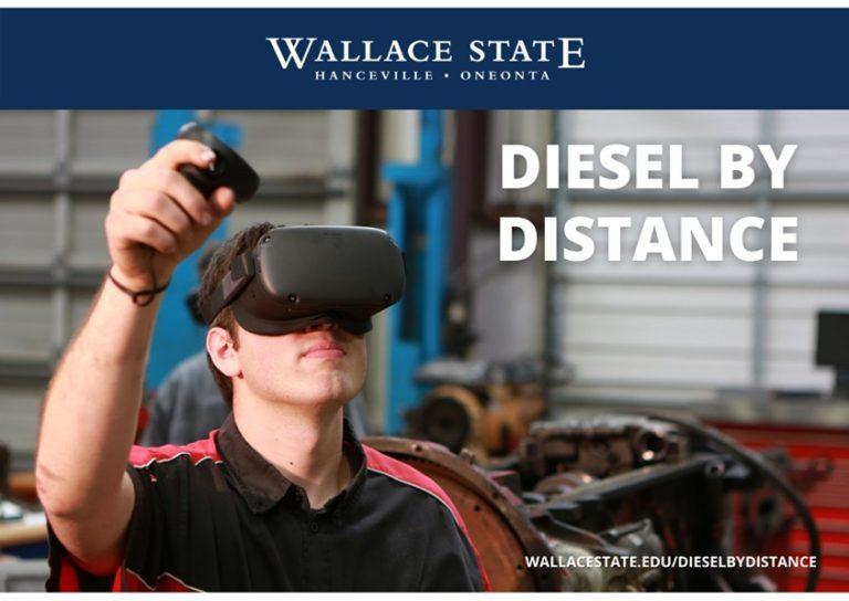美国华莱士州立社区学院利用VR培训柴油机技术,以提高学生就业率