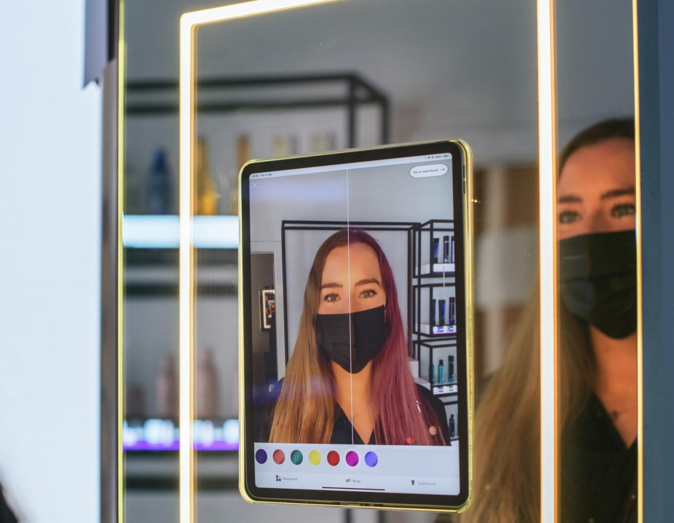 亚马逊在伦敦开设美发沙龙,将利用AR技术为客户提供服务
