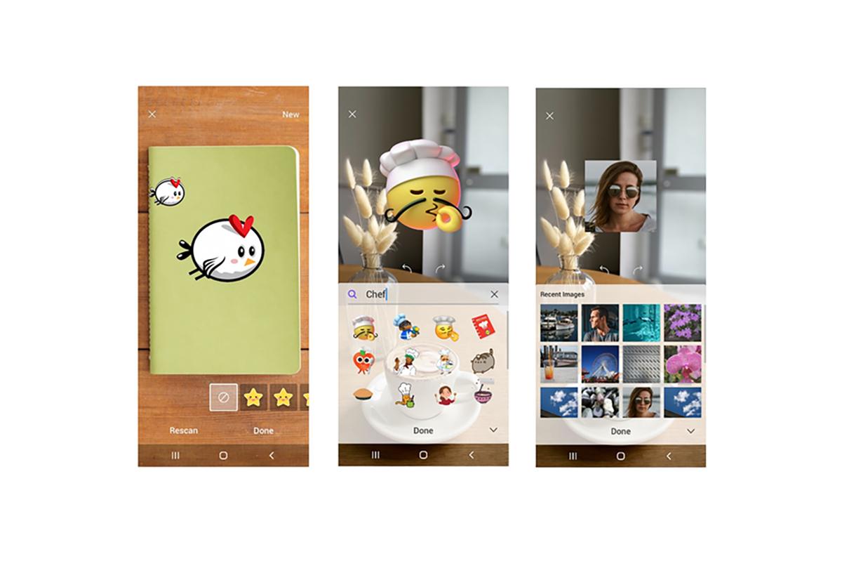 三星为Galaxy智能手机开发AR绘画应用《AR Canvas》