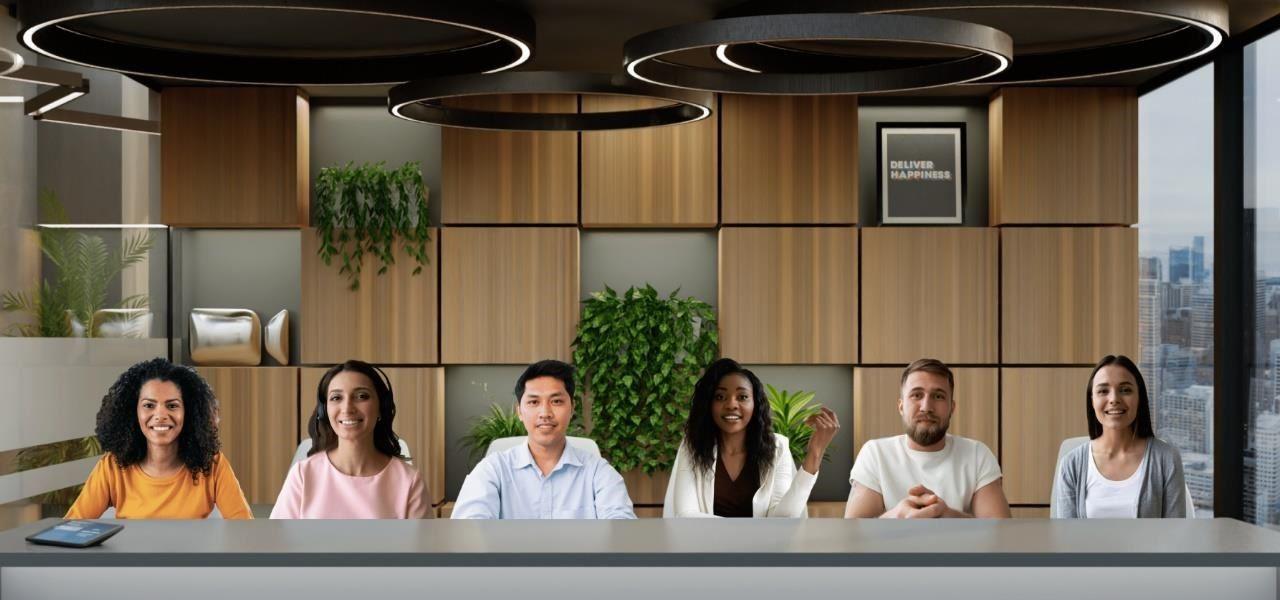 《Zoom》全新沉浸感:虚拟空间最多可容纳25人同时在线