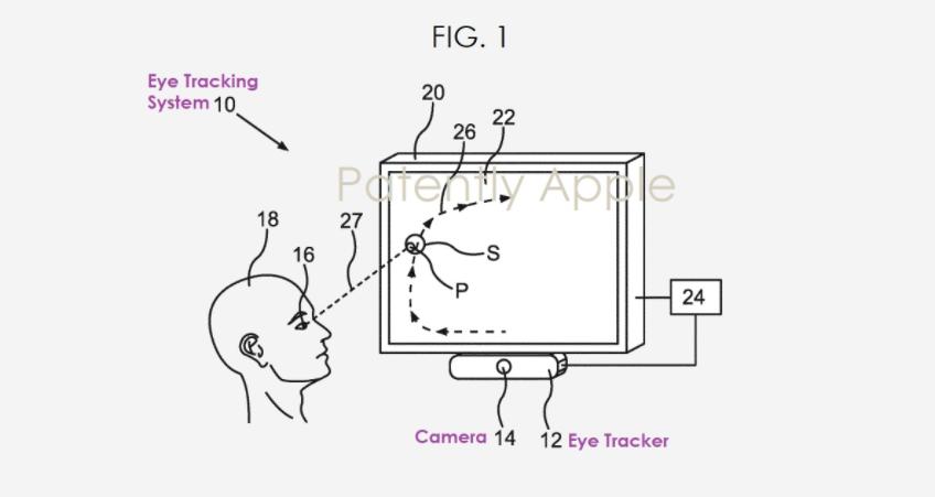 苹果新专利:未来AR/VR头显或配备可自动校准的眼动追踪设备