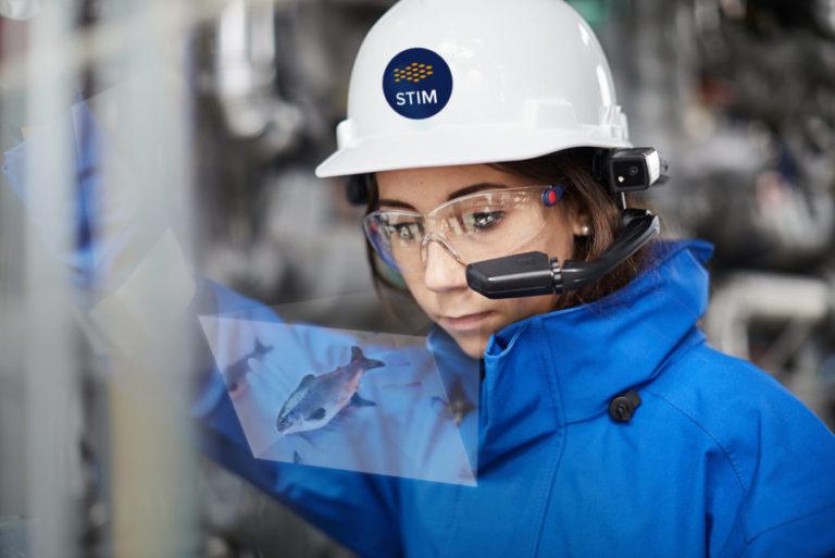 STIM部署RealWear的AR设备HMT-1以辅助水产养殖业检查