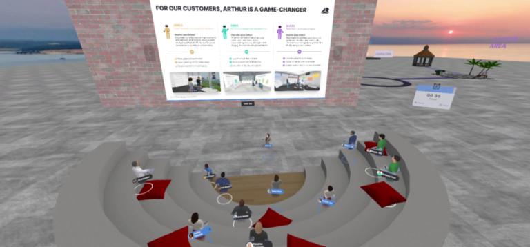 虚拟会议平台《Arthur》发布重大更新