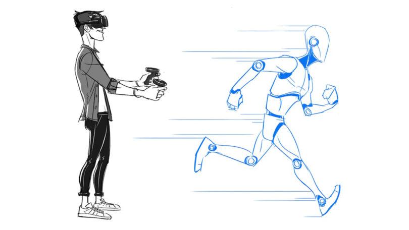 日本研究人员发表一项利用脚部触觉振动在VR中模拟行走的研究
