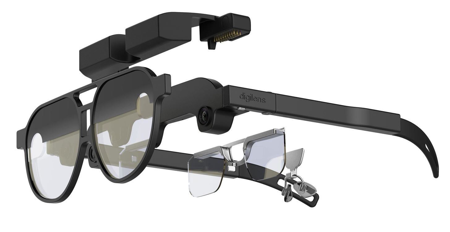 波导制造商DigiLens推出AR眼镜参考设计Design v1