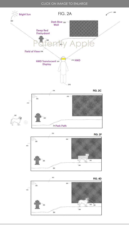 苹果AR专利:可让显示器在明亮或弱光条件下准确显示AR内容