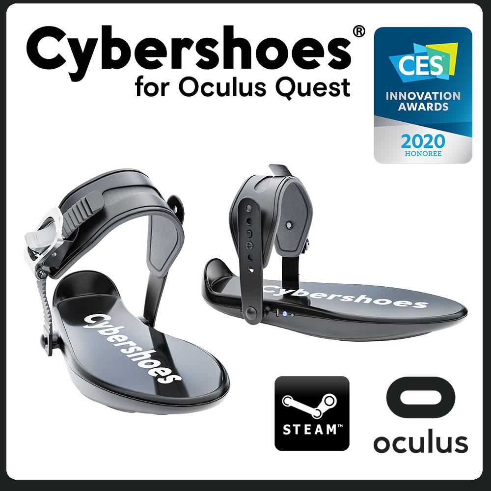 VR游戏外设Cybershoes在亚马逊美国站开售