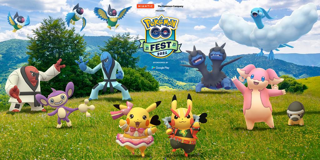 音乐节主题Pokemon Go Fest 2021将于7月17日举行