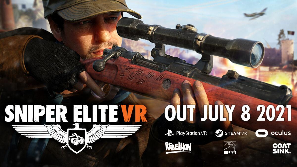 VR射击游戏《狙击精英》将于7月8日上线
