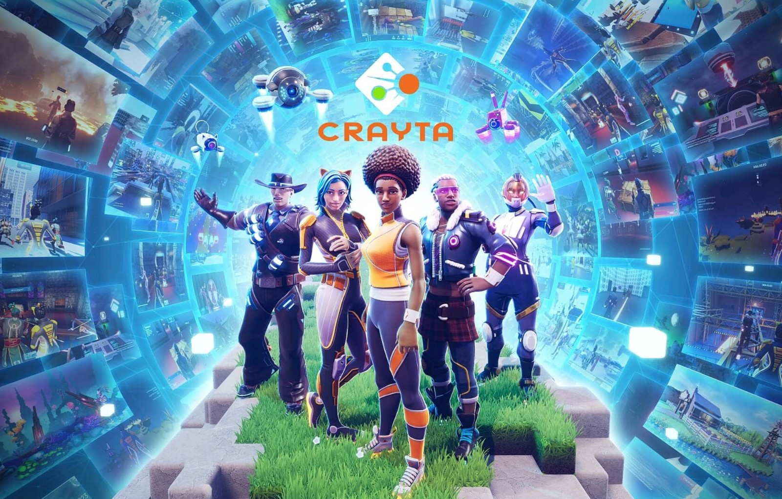 Facebook收购类Roblox游戏创作平台《Crayta》