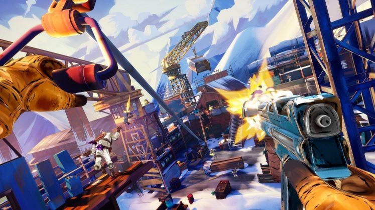 PSVR射击游戏《Fracked》发布新预告,可支持滑雪等新玩法