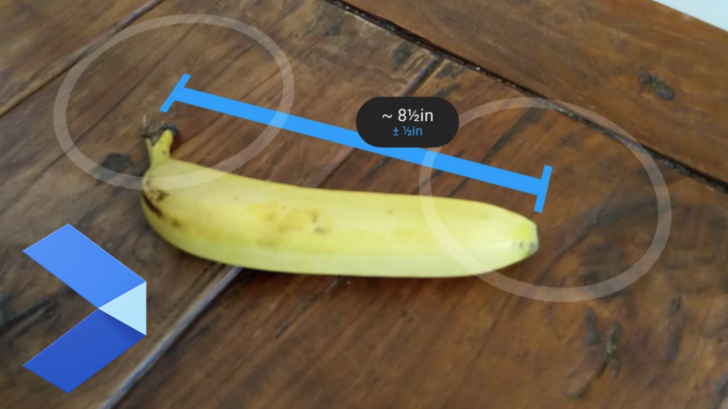 谷歌放弃了AR测量应用Measure的更新