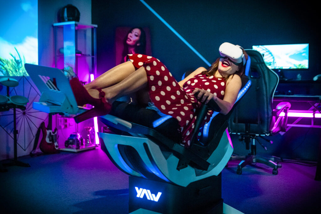 Yaw2 VR运动模拟器众筹成功获270万美元
