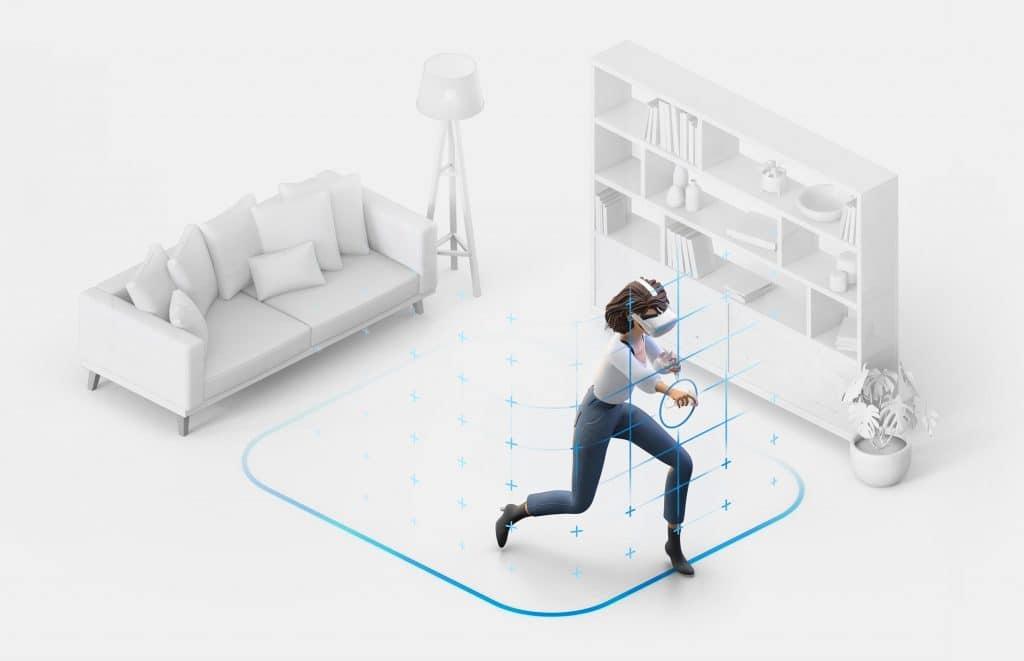 Oculus Quest 安全区将扩展到15×15米