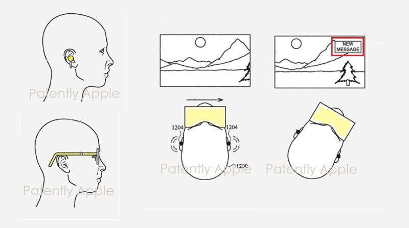 苹果为AirPods、智能眼镜和AR头显改进带有空间音频的定向触觉输出系统