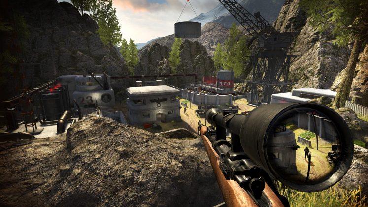即将上线的《狙击精英VR》近日发布新游戏预告片