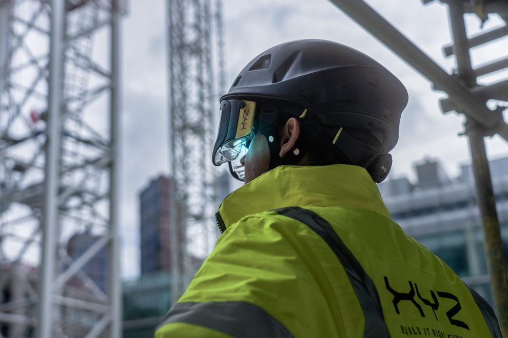 建筑工程AR头盔解决方案商XYZ Reality宣布完成2000万英镑A轮融资