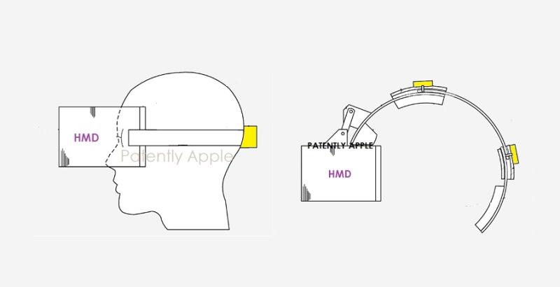 苹果新专利:未来头显或具有自动调节机制,可在佩戴时提供更强舒适性