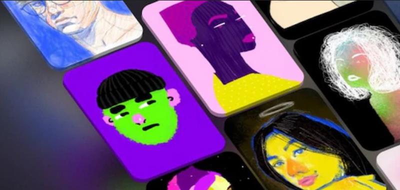 艺术家使用SketchAR可将作品转换为NFT形式