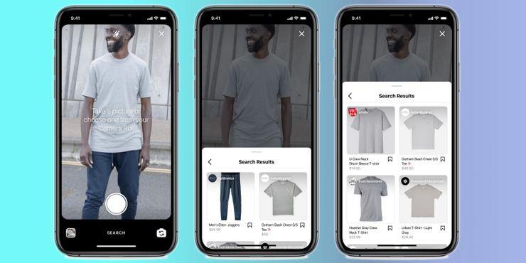 Facebook为Instagram新增AI视觉搜索工具,以识别商品并提供AR试用功能