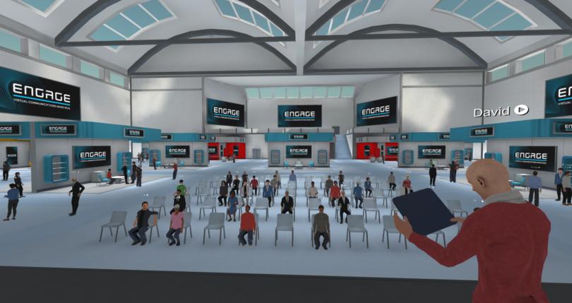 "VR培训平台ENGAGE计划推出""领英版Metaverse""--ENGAGE Oasis"