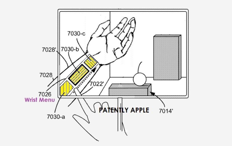 苹果新专利:未来头显或通过手部和眼部追踪系统,在AR/VR环境生成虚拟交互菜单