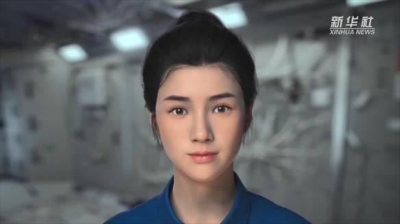 """腾讯游戏旗下NEXTStudios推出数字航天员""""小诤"""",成中国空间站首名""""女航天员"""""""