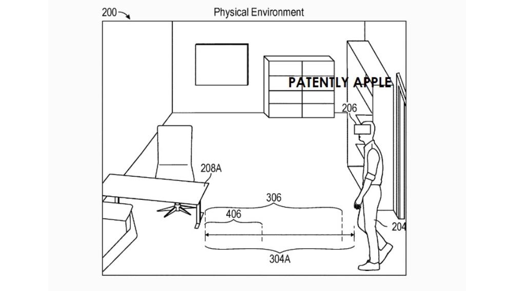 苹果新专利:未来HMD可检测物理边界,并通过显示物理对象图像警告用户