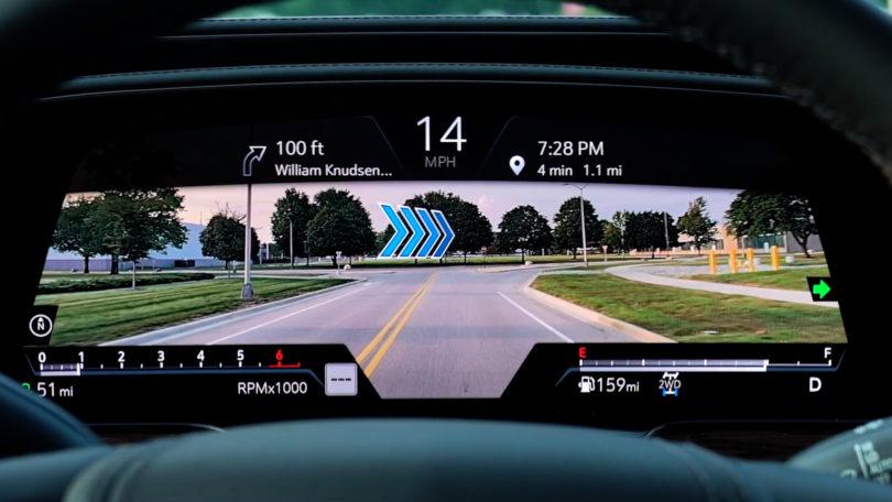 凯迪拉克发布视频展示其AR导航功能