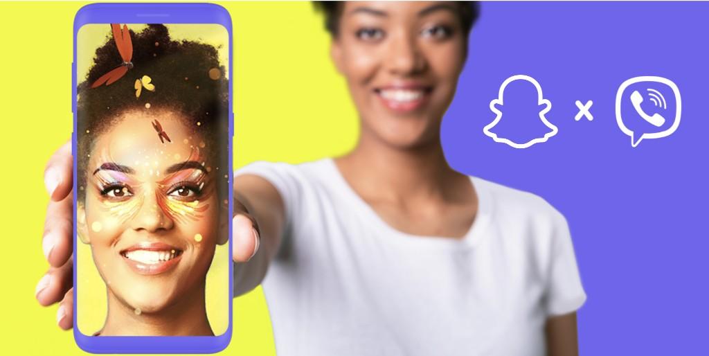 语音通信应用Viber宣布与Snap合作,为其应用推出AR滤镜
