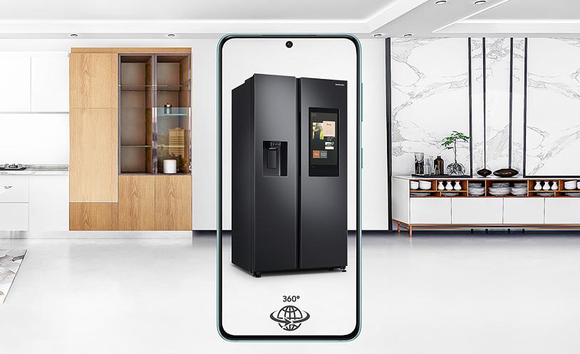 三星为其冰箱及电视产品推出AR演示,用户可在家中进行虚拟购物