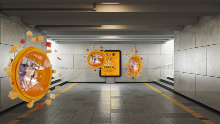 多力多滋与Poplar Studio合作,在英国推出AR营销活动