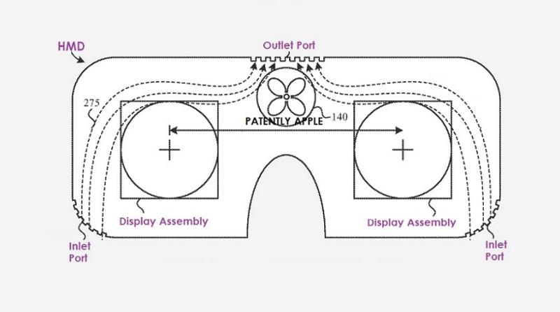 苹果HMD新专利:配备面部冷却系统,并采用菲涅尔透镜提升光线亮度