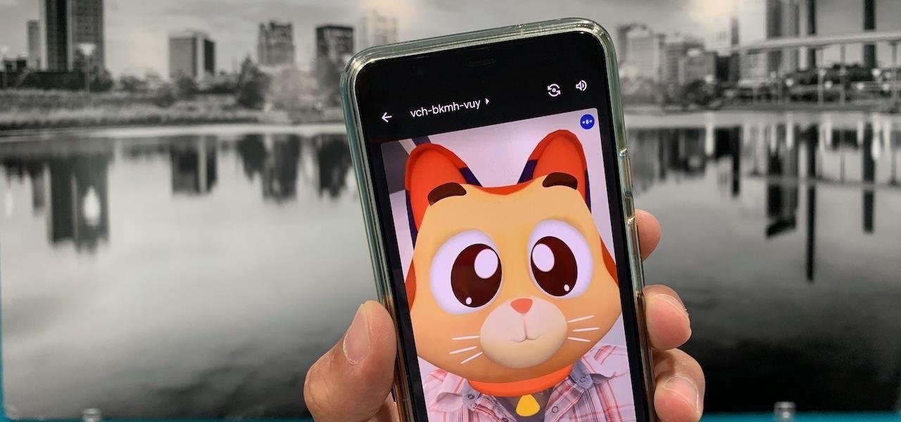 谷歌在移动应用Meet上推出新AR滤镜,类似苹果的Animojis